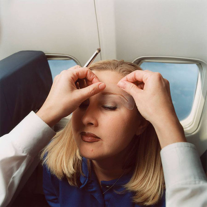 Рабочие будни стюардесс в объективе Брайана Финке