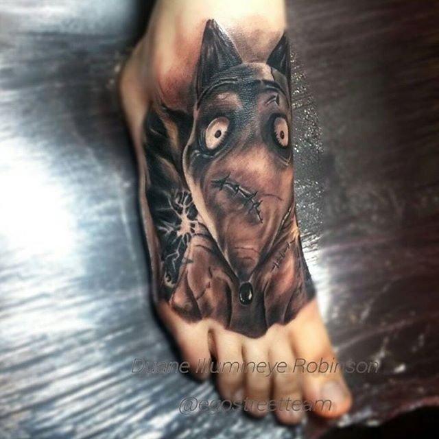 Удивительные татуировки от Мэтта Джордана