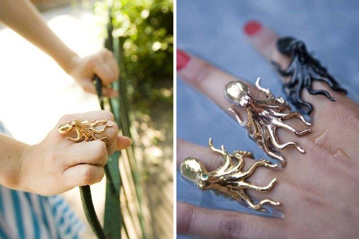 Забавные предметы и подарки для любителей осьминогов