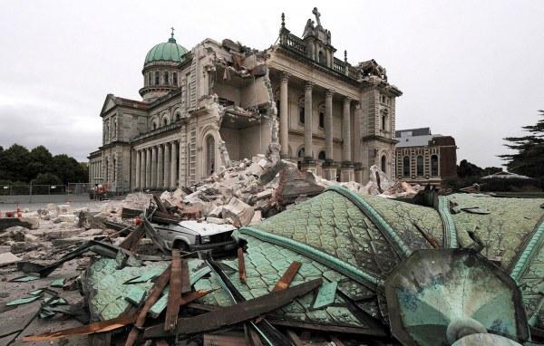 Фотографии городов, пострадавших от природных катастроф