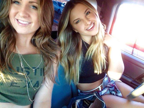 Красивые девушки, которые не дадут себя в обиду