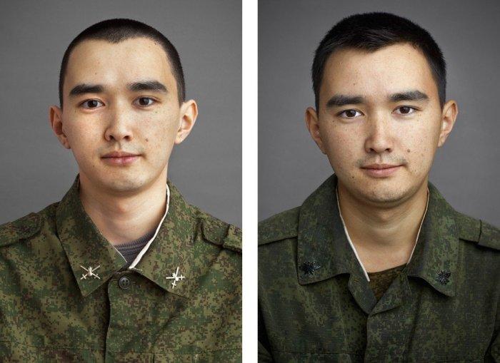 Лица парней до и после армии