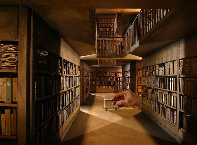 Немного гиперреализма из лионского музея миниатюры и кино