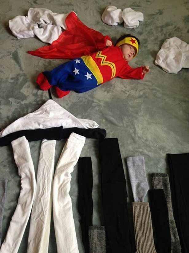 Оригинальные костюмы для детей на Хэллоуин