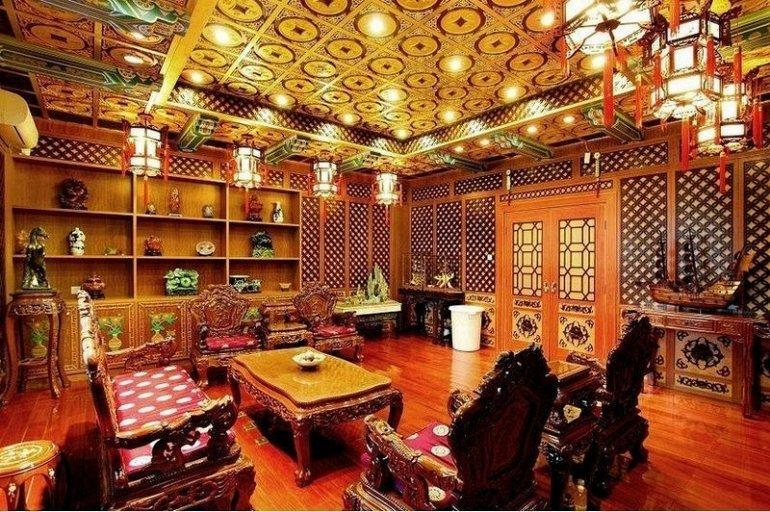 Роскошный офис китайской фармацевтической компании