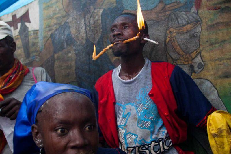 Служители вуду на Гаити