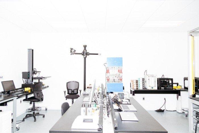 Лаборатория Apple для тестирования прототипов новых устройств