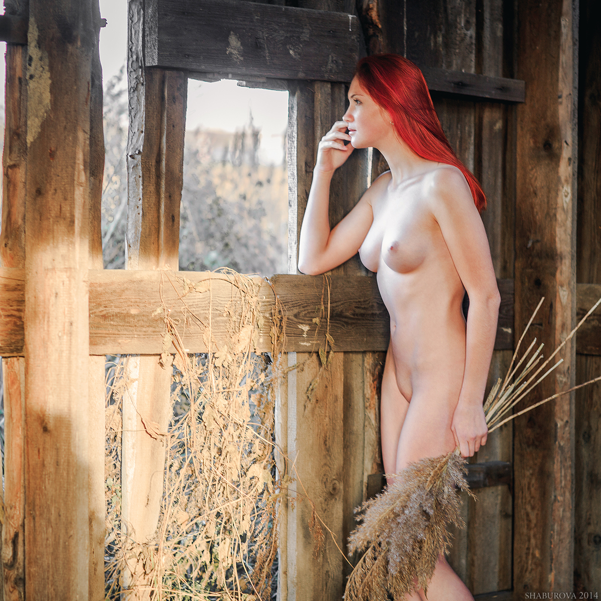 Hot redhead country girls naked