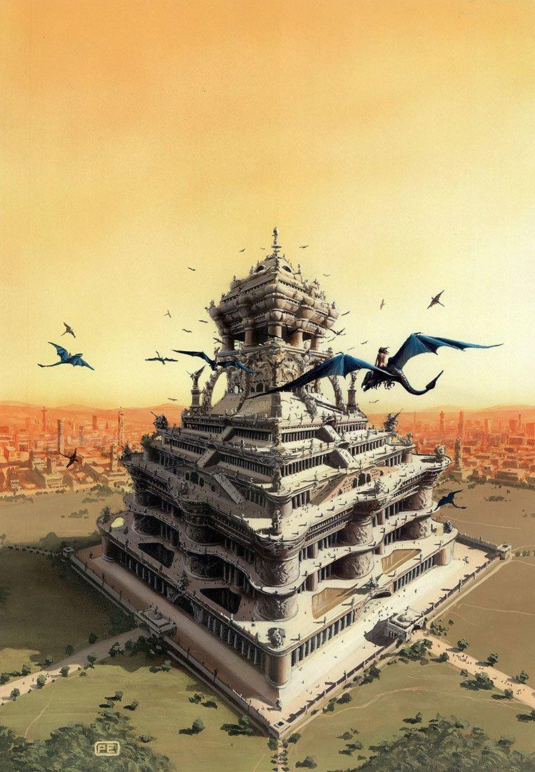Фантастические рисунки от Питера Элсона