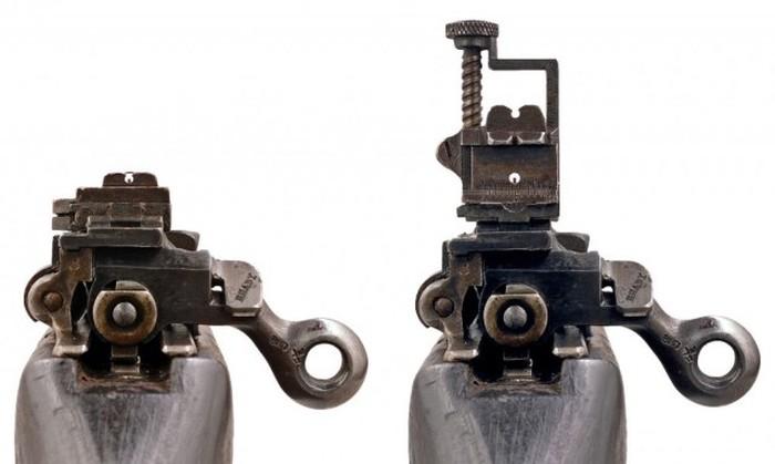 Прицельные приспособления различного огнестрельного оружия