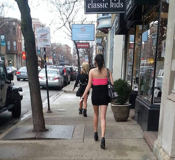 Тропа позора - возвращение девушек домой после гулянок
