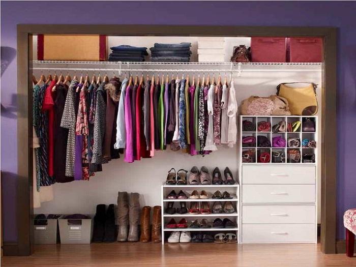 18 идей, чтобы организовать гардероб