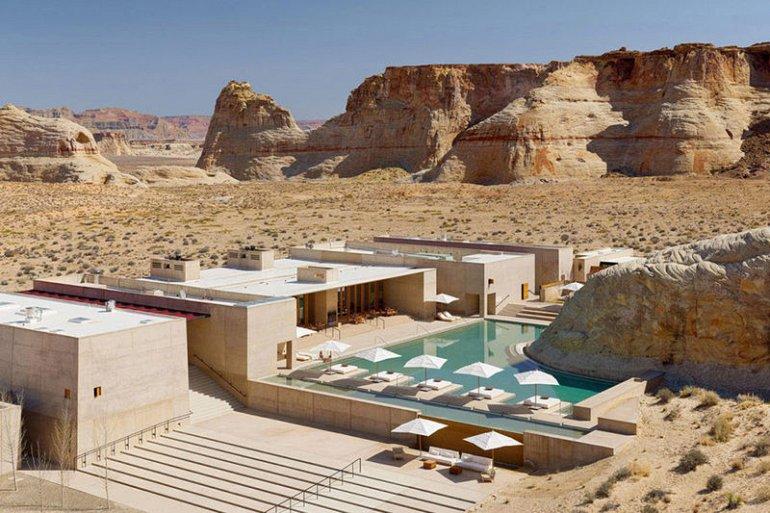 Живописный курорт в пустыне Юта