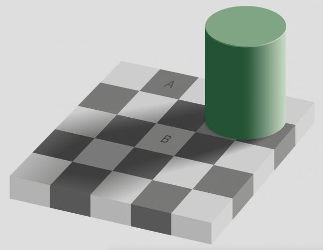 16 цветовых иллюзий, которые легко обманут наши глаза