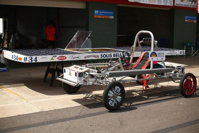 Гонки солнечных электромобилей World Solar Challenge 2015