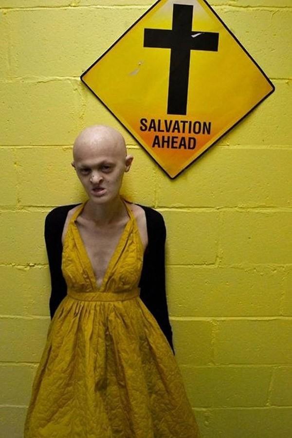 Мелани Гайдос - самая провокационная модель в мире