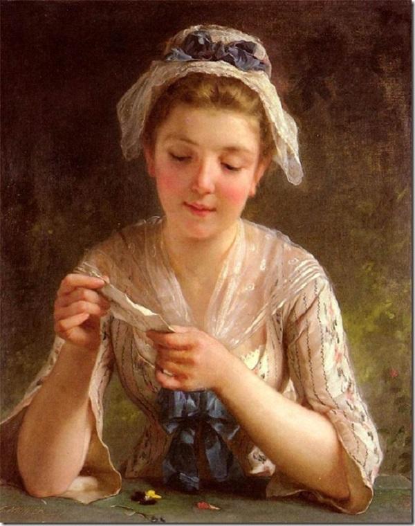 Образ прекрасной дамы на полотнах художников