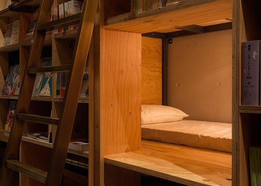 В Токио открывается отель для книголюбов