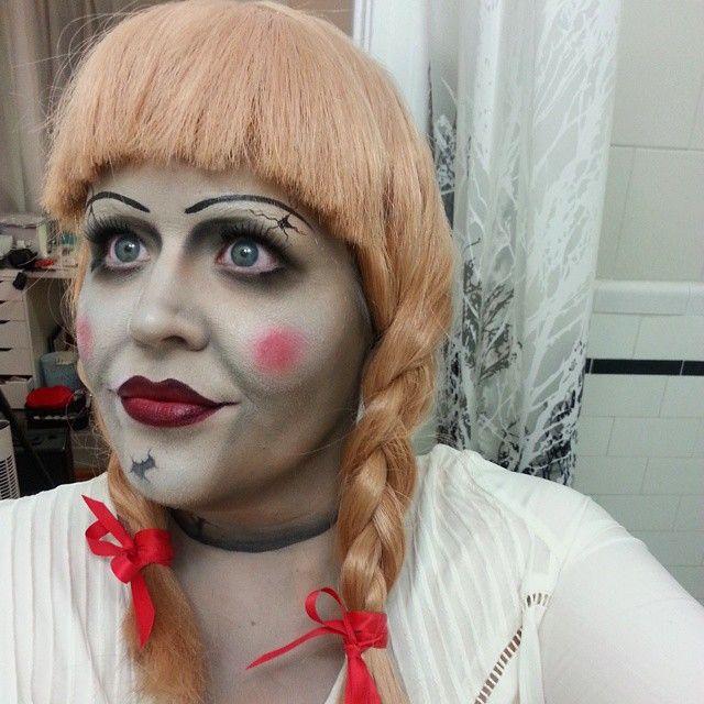 Пугающий макияж от Энджи Дэвис