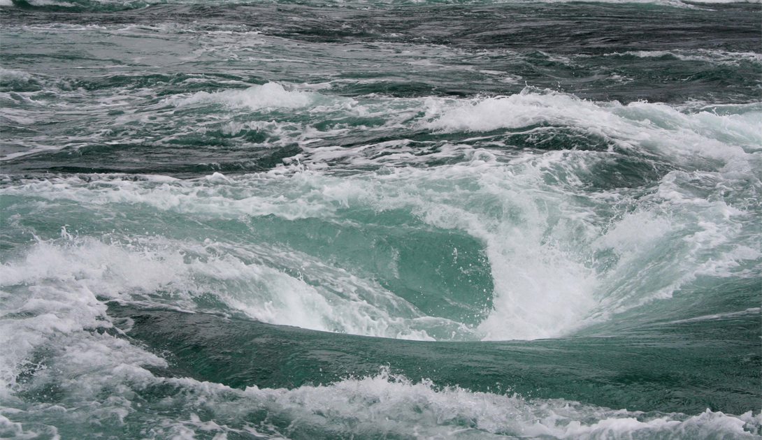 Самые опасные водовороты мира