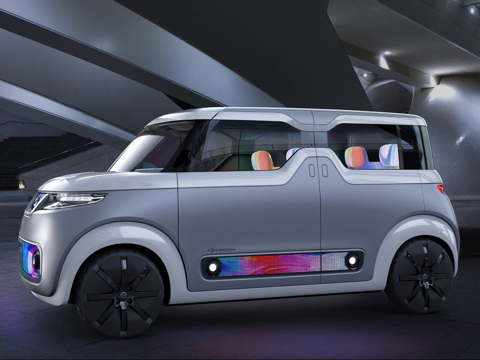 Футуристические машины на Токийском автосалоне 2015