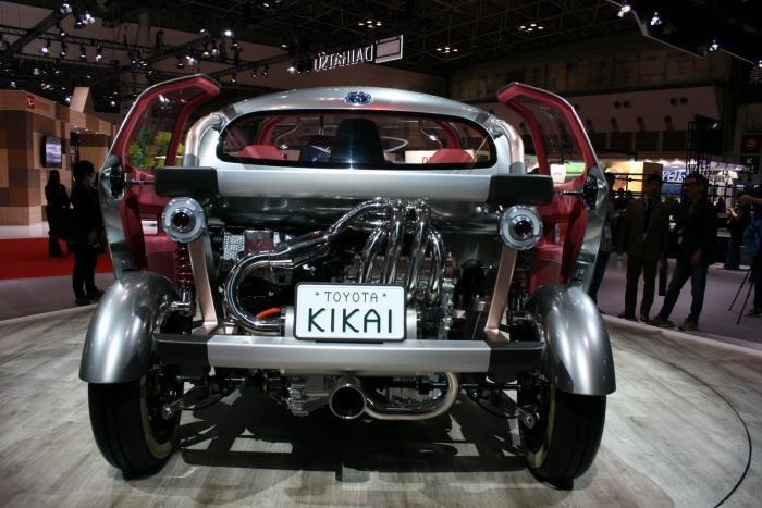 Необычный концепт Kikai от Тойоты