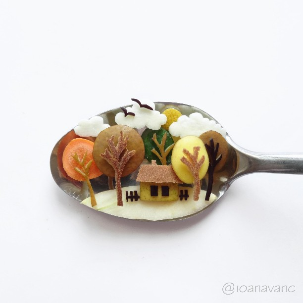 Креативы в ложке от Иоанны Ванц