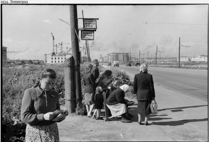 Фотографии Москвы и Ленинграда 1954 года