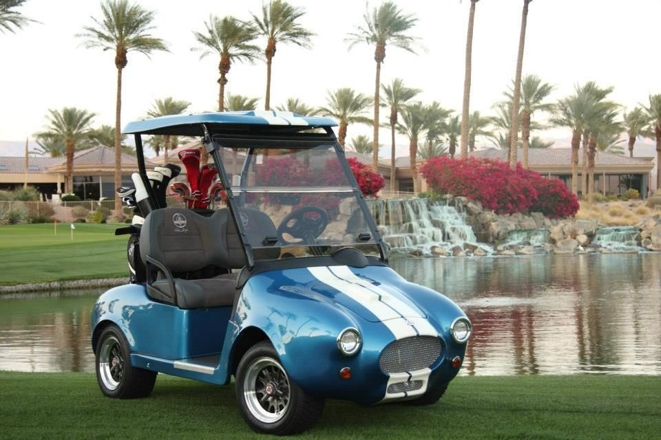 Необычные гольф-кары класса люкс