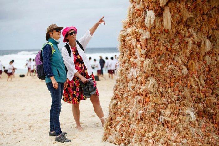Фестиваль скульптуры у моря 2015 на пляже Бонди