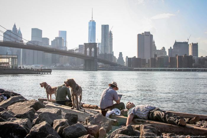 Простые жители Нью-Йорка