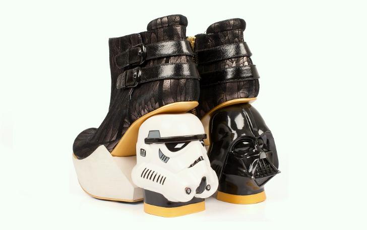 Коллекция обуви в стиле звездных войн