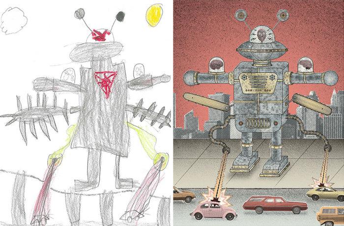 Необычные монстры прямо из детских фантазий