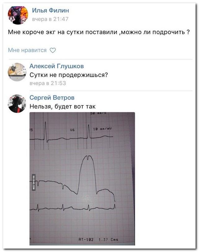 Прикольные комментарии из соцсетей
