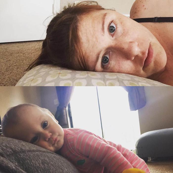 Селфи из жизни обычных мам