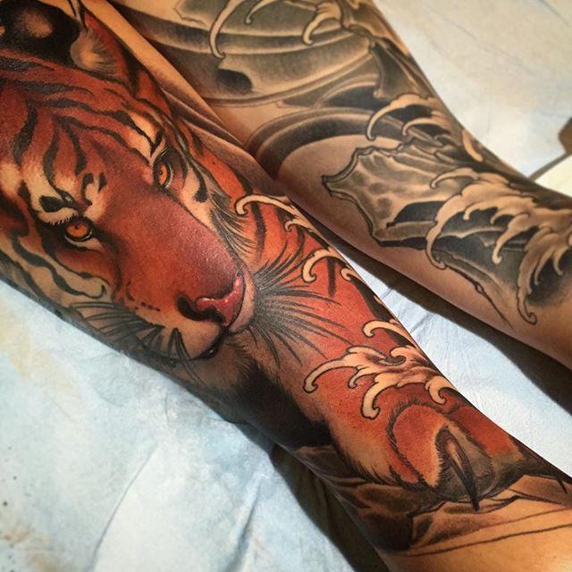 Невероятные татуировки от Джеффа Гоугвэя