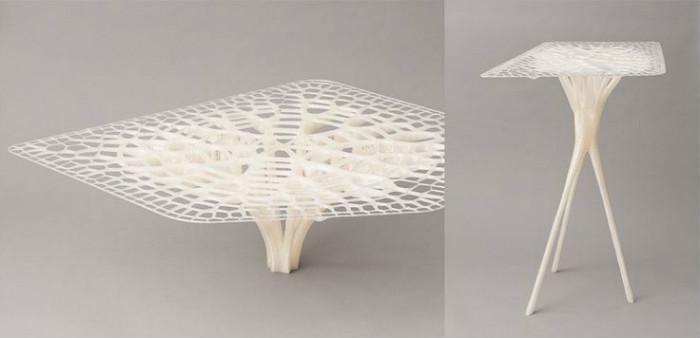 Мебель нового поколения, созданная на 3D-принтере