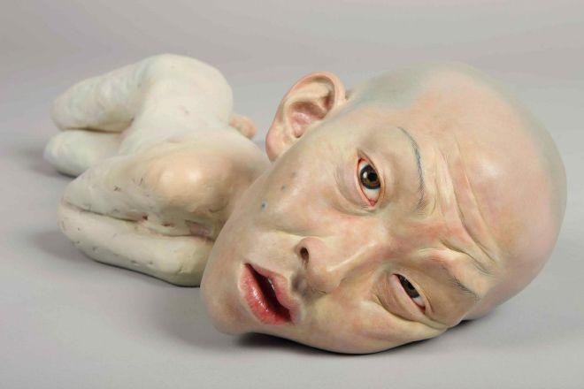 Реалистичный анатомический арт от корейского скульптора