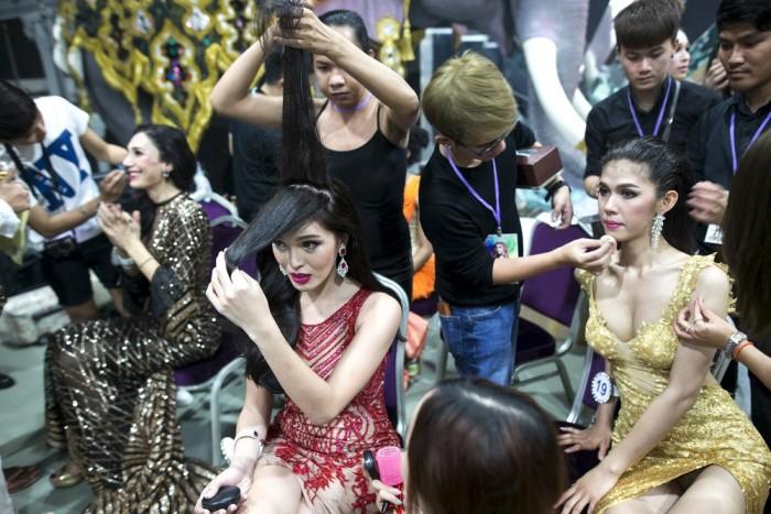 Трансгендерный конкурс красоты Miss International Queen 2015 в Паттайе