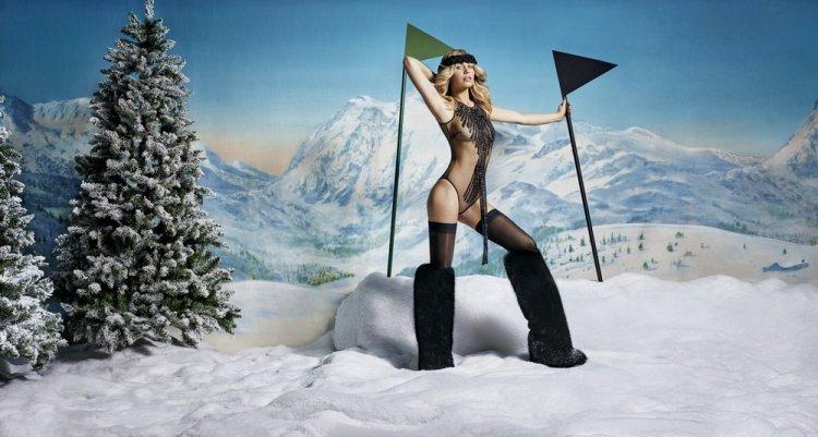 Рекламная фотосъемка белья Agent Provocateur