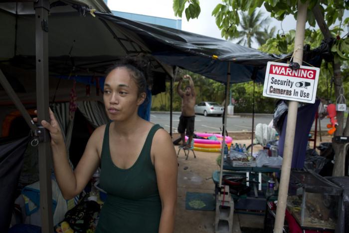 Жизнь бездомных на Гавайях