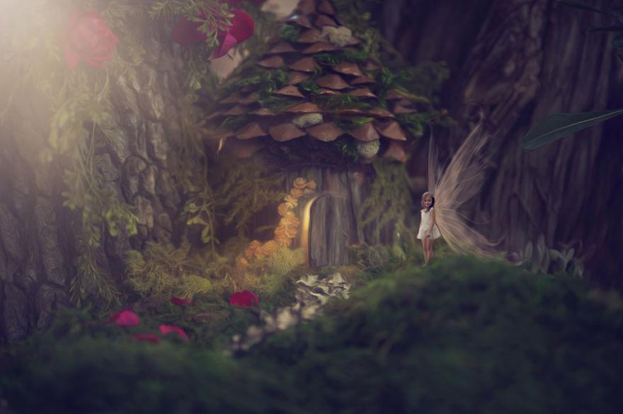 Детские мечты и фантазии на снимках Рианона Логсдона