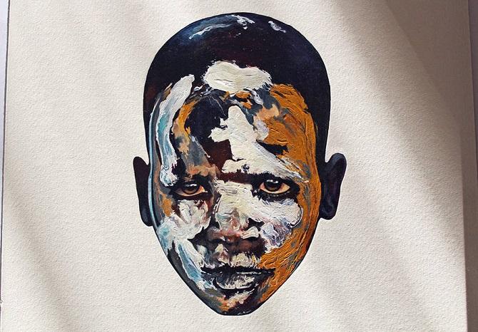 Гиперреалистичные портреты акварелью от художника Felipe Bedoya