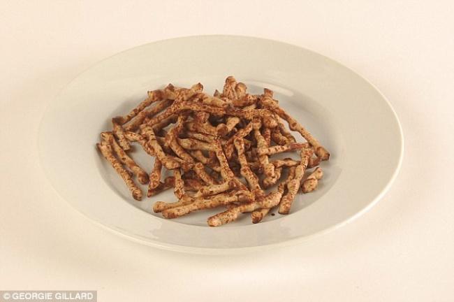 Как выглядят 100 килокалорий
