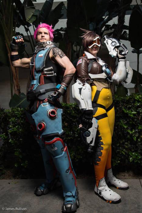 Косплееры с игрового фестиваля BlizzCon 2015