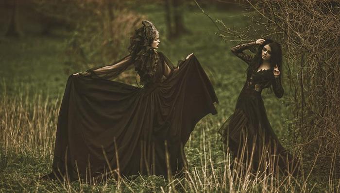 Волшебные женские образы на фотографиях Агнежки Лорек
