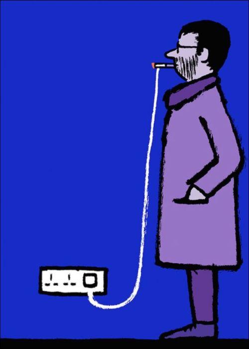 Зависимости современного человека в рисунках Жана Жюльена
