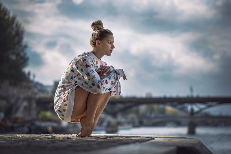 Восхитительные портреты танцоров и гимнастов вне студии