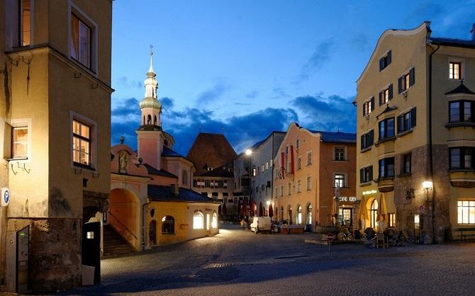 Небольшие живописные городки Европы