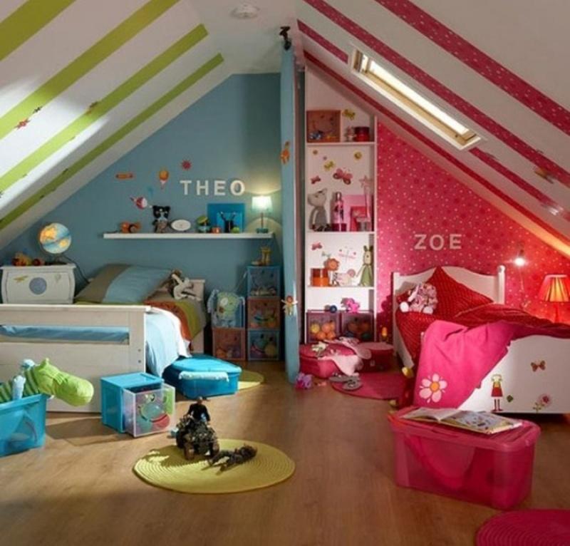 Детские спальни, о которых мечтают даже взрослые